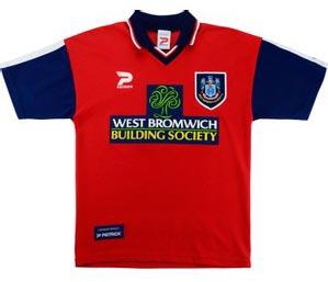 Retro West Brom Shirt 1998 Away Shirt