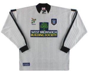 Retro West Brom Shirt 1998 Goalkeeper shirt