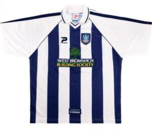 Retro West Brom Shirt 1998 Home Shirt
