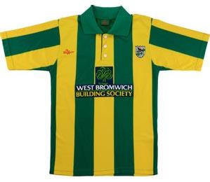 Retro West Brom Shirt 2001 Away Shirt