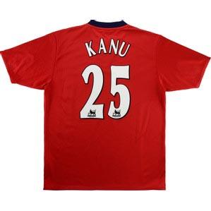 Retro West Brom Shirt 2004 Kanu Away Shirt