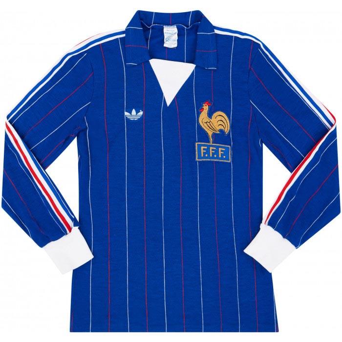 Retro France Home Shirt 1980 MAIN