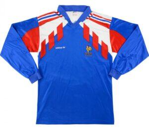 Retro France Home Shirt 1990 MAIN
