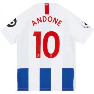 Retro Brighton Andone Home Shirt 2018