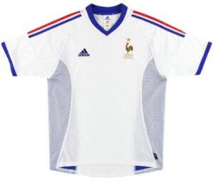 Retro France Away Shirt 2002