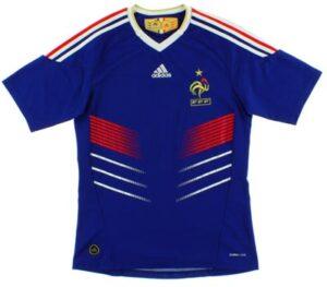 Retro France Cantona Home Shirt 2009
