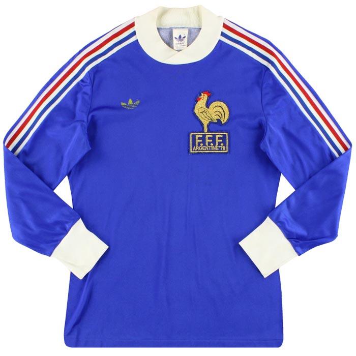 Retro France Home Shirt 1978