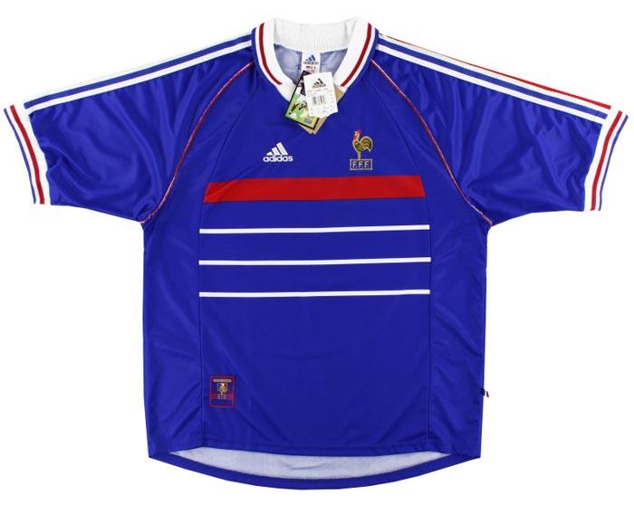 Retro France Home Shirt 1998