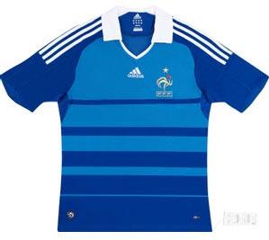 Retro France Home Shirt 2008