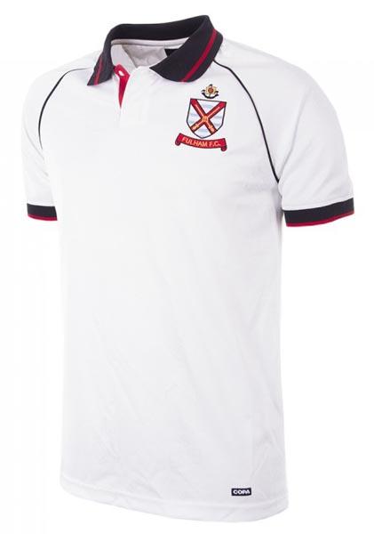 Retro Fulham 1992 home shirt