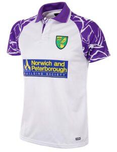 Retro Norwich Away Shirt 1992