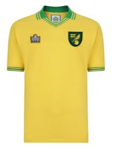 Retro Norwich Home Shirt 1978