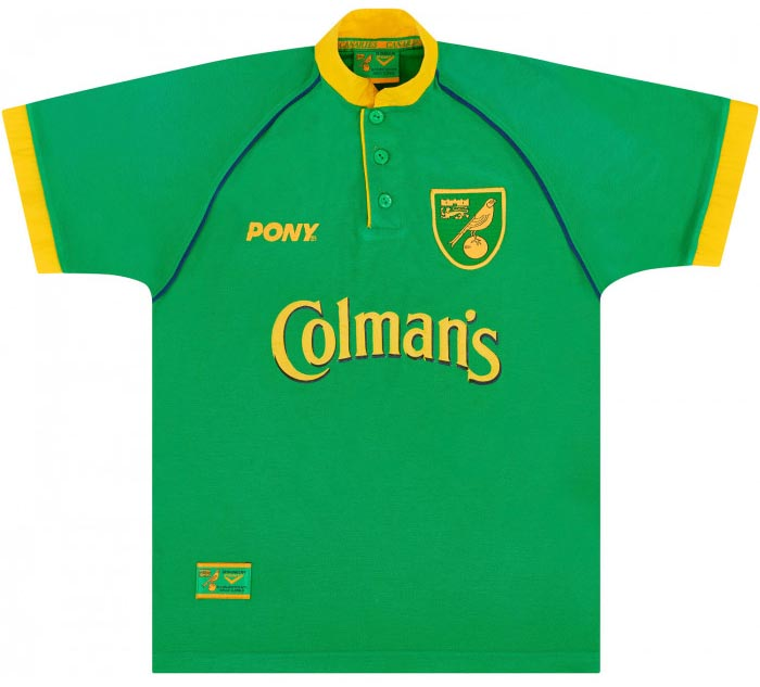 Retro Norwich Home Shirt 1997