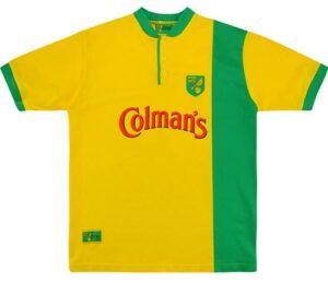 Retro Norwich Home Shirt 1999