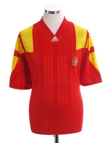 Retro Spain Home Shirt 1992