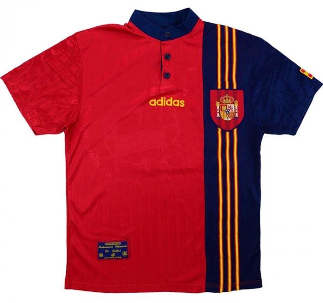 Retro Spain Home Shirt 1996