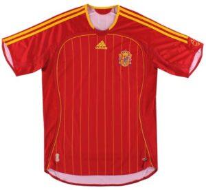 Retro Spain Home Shirt 2006