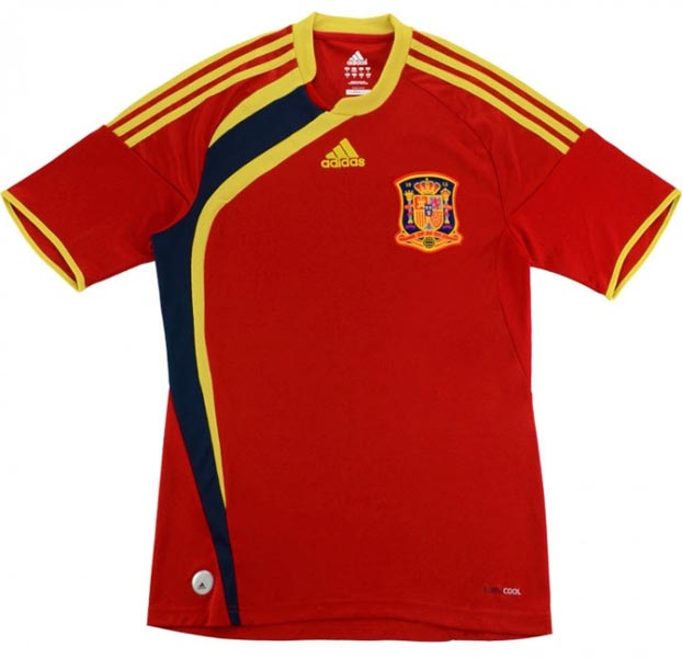 Retro Spain Home Shirt 2009 MAIN