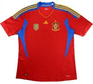 Retro Spain Home Shirt 2010