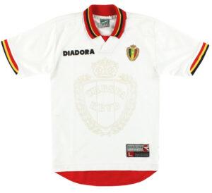 Retro Belgium Away Shirt 1996 MAIN