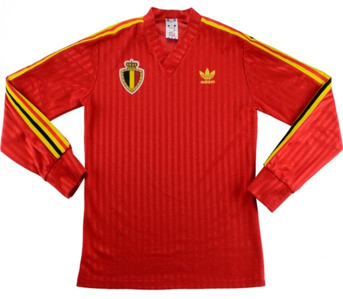 Retro Belgium Home Shirt 1990