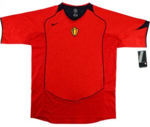 Retro Belgium Home Shirt 2004