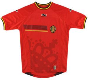 Retro Belgium Home Shirt 2014