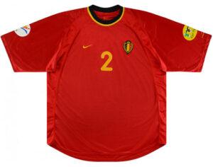 Retro Belgium Match Issue Home Shirt 2000