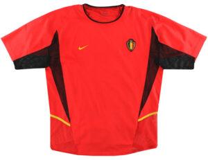 Retro Belgium Player Issue Home Shirt 2002 MAIN
